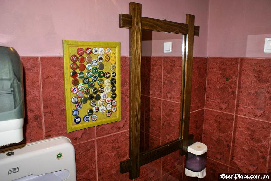 Днепропетровск. Ирландский паб Шамрок. Туалет