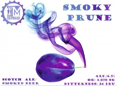 Smoky prune - новинка от Mad Brewlads