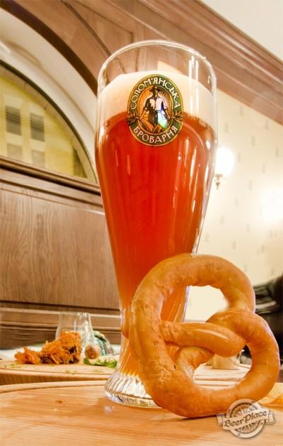 Дегустация Weizenbock от Соломенской пивоварни
