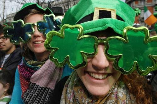 День святого Патрика в Дублине 2010 | Ireland St Patrick's Day Dublin