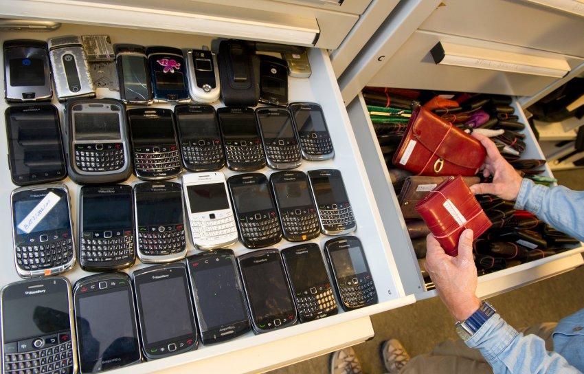 Утерянные телефоны и кошельки на Октоберфесте 2011