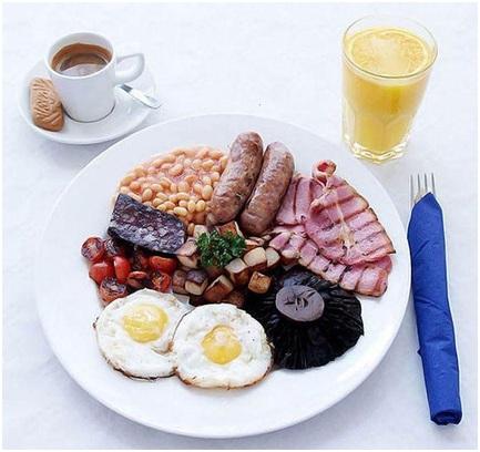 Вкусные завтраки в ресторане Olimpiyskiy Sport&Beer